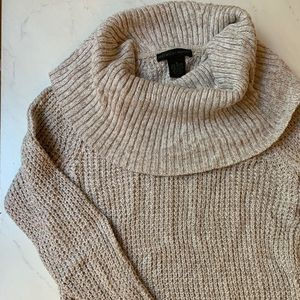 Preswick and Moore cowl neck sweater